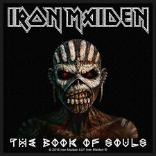 "IRON MAIDEN - (THE) BOOK OF SOULS PATCH 10CM X 10CM (4"" X 4"")"