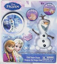 NEW Disney Frozen Shape & Build OLAF Snow Foam Set! Box of Foam & 7 Olaf pieces