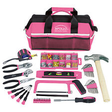 Pink Tool Piece Set Tools Box Ladies Girls Household Womens Repair Project