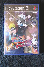 PS2 : NARUTO SHIPPUDEN : ULTIMATE NINJA 5 - Nuovo, sigillato, ITA ! Introvabile