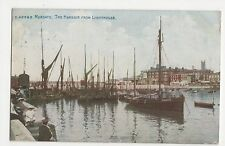 Kent, Margate, The Harbour From Lighthouse Postcard, A738
