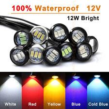 10 pcs LED Daytime Running Light DRL Eagle Eye Backup Light 12W 23mm for Toyota