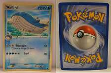 GCC Carta Game Pokemon HOLO FOIL BRILLANTE Inglese - WAILORD 14/109 HP PV 120 -