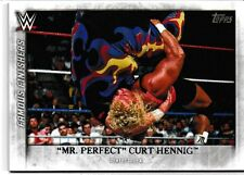 Mr. Perfect Curt Hennig 2015 Topps WWE Undisputed Famous Finishers Card # FF25