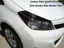 Yaris Hatchback precut Carbon Fiber Vinyl headlight eyelids + Side Marker Tint