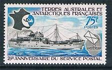 French Antarctic/TAAF 1974 25th Anniversary of Postal Services SG 95 MNH