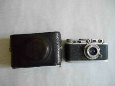 Early FED NKVD Leica copy Russian rangefinder camera. Lens Industar - 10