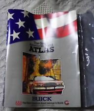 Vintage Buick 1988 Road Atlas With Tribute To The Olympic Games