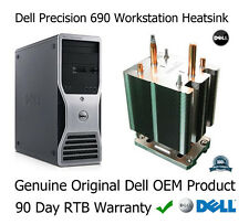 Dell Precision 690 Workstation Processor CPU Heatsink with screws FD841 0FD841
