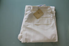 Pantalone Uomo TIMEO by Cucinelli Made in Italy PANNA TG 38 (52 ITA) 250€