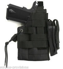 Condor Tactical Abidextrous Glock Pistol Holster & Mag pouch - Black #H-GLOCK