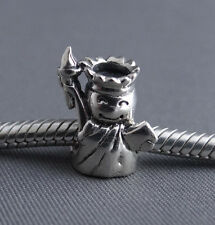 Sterling Silver .925 - Statue of Liberty - European Charm Bead