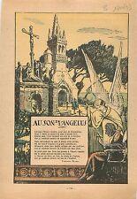 Au son de l'Angélus Cloche de l'Eglise Jean-Baptiste-Théodore-Marie Botrel  1933