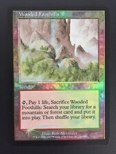 FOIL Wooded Foothills Onslaught MTG Magic The Gathering Mint Unplayed