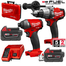 "Milwaukee 2897-22 M18 FUEL™ 1/2"" hammer Drill/Driver NEXT GENERATION M18FPP2A-50"