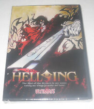 HELLSING ULTIMATE ANIME DVD - BEST ENGLISH, plays worlwide, FREE USA shipping
