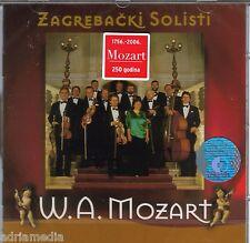 ZAGREBAČKI SOLISTI CD Wolfgang Amadeus Mozart 250 y 1756 2006 Croatia Zagrebacki