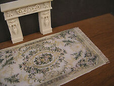 """Half Scale  RUG ~ 1/2"""" scale ~  HANDCRAFTED ~ Dollhouse Miniature ~ 1/24 scale"""