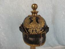 M1891 Prussian Artillery Leather Pickelhaube Helmet