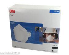 3M Aura 9320+ Mask Disposable Respirator FFP2  (Lot of 20 pcs ) *Made in U.K*