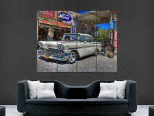 CHEVROLET 1958 CLASSIC  CAR  IMAGE  LARGE WALL POSTER PICTURE