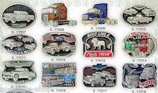 SALE  50er  US Car Trucks Vans Ford Buckle Oldtimer Hot Rod Gürtelschnalle
