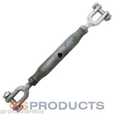12mm Galvanised Rigging Screw Jaw/Jaw Turnbuckle FREE Postage + Packaging!