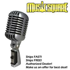 Shure 55SH Series II Vintage Style 55 Mic FREE SAME DAY SHIPPING! MAKE OFFER!