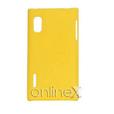 Funda Carcasa para LG OPTIMUS L5 E610 P610 Rígida Color AMARILLO a574
