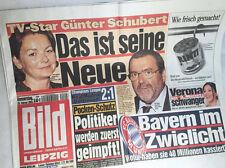 Bildzeitung vom 20.02.2003 * Geschenk zum Jahrestag * Real Madrid - BVB Dortmund
