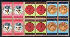Bermuda 1978 25th Anniv.Coronation BLK 4 SG 384/6 MNH