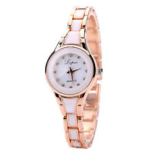 Fashion Womens Watch Stainless Steel Luxury Bracelet Analog Quartz Wrist Watch