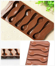 Interessant DIY Schokolade Backen Kuchen Biskuit Silikon Löffel Scoop Form Mould