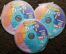 DUETS 3 CDG SET CHARTBUSTER KARAOKE R&B,SOUL,COUNTRY,POP 50 SONGS CD+G 5025