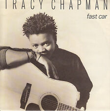 """TRACY CHAPMAN  Fast Car  PICTURE SLEEVE 7"""" 45 record + juke box title strip NEW"""