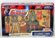 BANDAI 2001 MOBILE SUIT GUNDAM RX-78 & G-FIGHTER DELUXE EDITION IN BOX