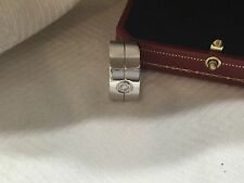 100% authentic Cartier high love ring with .30 ct diamond 23.45g 11mm