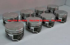 Speed Pro/TRW Ford/Mercury 351C Forged Coated Skirt Flat Top Pistons Set/8 +.040