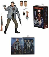 "NECA TERMINATOR ULTIMATE TECH NOIR T-800 (ARNIE) 7"" ACTION FIGURE 2016"