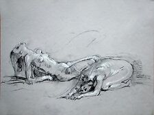 Life Drawing Female Nude Model Two Poses Keith Gunderson