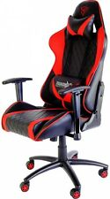 X3 Pro Fully Adjustable Sturdy Gaming Chair Black Red Home Office