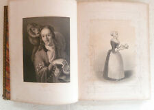 Payne's Royal Dresden Gallery Part I Fine Art Engravings c1850 Leather H/B Book