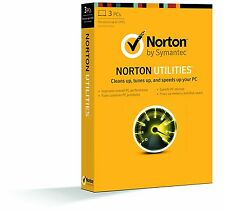 *NEW* Norton Utilities 16 16.0 3 PCs CD & Key Windows XP, Vista, 7, 8, 10
