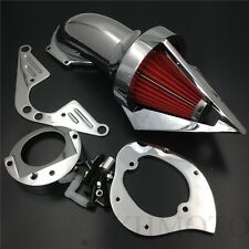 Chrome Triangle Air Cleaner kits for Yamaha RoadStar 1600 XV1600A 1700 1999-2012