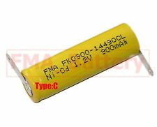 10Pcs Ni-Cd AA 1.2V 900mAh Rechargeable Battery  Nickel Cadium cell 14*49mm US