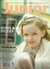 JUNIOR, THE WORLD'S FINEST PARENTING MAGAZINE, MARCH, 2013 ( BOWS & BELLES  )