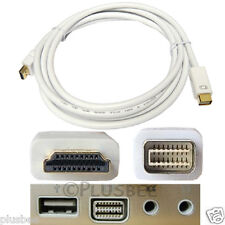 4M Gold Mini DVI 32 Pins To HDMI Male HDTV Macbook Mac Laptop Video Cable Lead