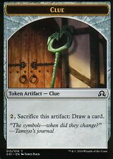 4x Clue Token - Version 5 | NM/M | Shadows over Innistrad | Magic MTG