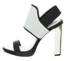  NEW  BCBG Black White Jovian Color-Block Shoes 9.5 $275