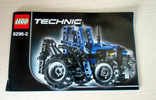Lego Technic Instruction Book Instructions BOOKLET ONLY 8296-2
